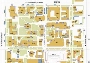 Ohio State University Campus Map Pdf Main Campus Map San Jose State University