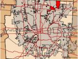 Ohio townships Map Blendon township Franklin County Ohio Wikipedia