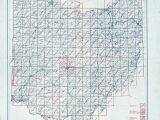 Ohio townships Map Ohio Historical topographic Maps Perry Castaa Eda Map Collection