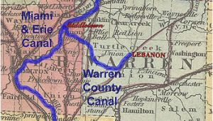 Ohio towpath Map Historic Ohio Canals Revolvy