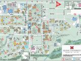Ohio Universities and Colleges Map Oxford Campus Maps Miami University