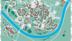 Ohio University Location Map Ohio University S athens Campus Map