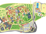 Ohio University Parking Map Campus Map L Universita Ta Malta