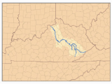 Ohio Watershed Map Kentucky River Simple English Wikipedia the Free Encyclopedia
