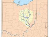 Ohio Watershed Map Muskingum River Revolvy