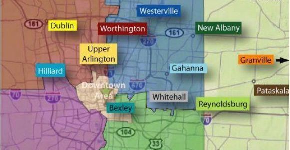 Ohio Wetlands Map Columbus Neighborhoods Columbus Oh Pinterest Ohio the