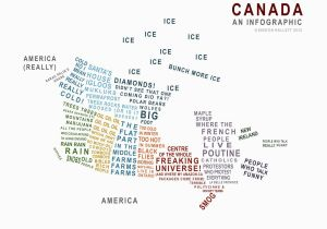 Oil In Canada Map Canada A Map In Words Just because Canadian