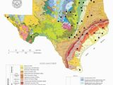 Oil Map Of Texas Geologically Speaking there S A Little Bit Of Everything In Texas