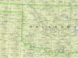 Oklahoma Texas Map with Cities Oklahoma Maps Perry Castaa Eda Map Collection Ut Library Online