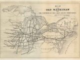 Old Map Of Michigan 185 Best Olde City Maps Images On Pinterest City Maps Cartography