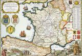 Old Maps Of France Antique Map Of France Maps France Map Antique Maps Map Art