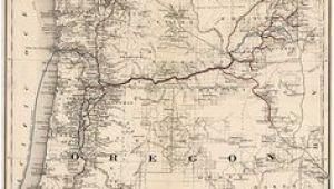 Old Maps Of oregon 11 Best oregon Vintage Map Images Vintage Cards Vintage Maps