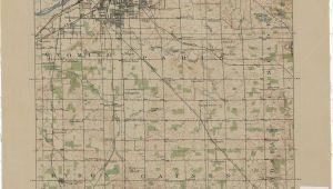 Old Michigan Maps Vintage Grand Rapids Map Vintage Michigan Map Michigan Places