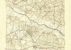 Old topographic Maps Of New England Amazon Com Yellowmaps Seven Pines Va topo Map 1 31680
