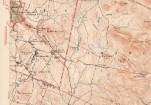 Old topographic Maps Of New England East Barre Vt Quadrangle