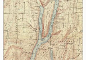 Old topographic Maps Of New England Keuka Lake 1903 Usgs Old topographic Map Custom Composite Reprint New York Finger Lakes
