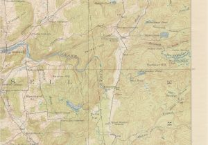 Old topographic Maps Of New England Russell Ny Quadrangle