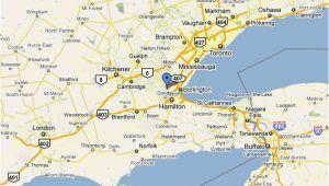 Ontario Canada Google Maps Dundas Ontario Location and Population