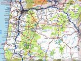 Oregon and Idaho Map oregon Road Map
