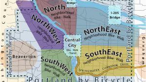 Oregon Bike Map Portland Bike and Walking Maps Portland Oh the Places I Ll Go Us