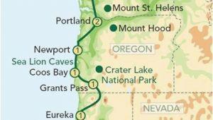 Oregon Breweries Map Yachats oregon Map Secretmuseum