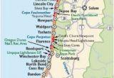 Oregon Coastline Map Washington and oregon Coast Map Travel Places I D Love to Go
