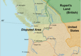 Oregon Country Fair Map oregon Boundary Dispute Wikipedia