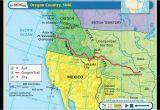 Oregon Country Fair Map oregon Country Map 1846 Secretmuseum