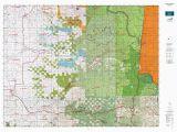 Oregon Hunting Unit Maps or 16 Santiam S Map Mytopo