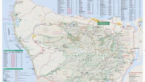 Oregon Inlet Campground Map Maps Olympic National Park U S National Park Service