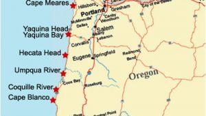 Oregon Lighthouse Map oregon Coast Lighthouse Map Secretmuseum
