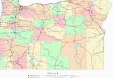 Oregon Map Cities and towns Large Printable Map Of the United States with Cities Download them