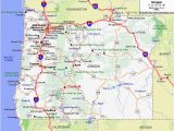 Oregon Map Highways Dawson House Lodge Chemult oregon Travel oregon Map oregon