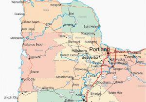 Oregon Maps Online Cannon Beach oregon Map Secretmuseum