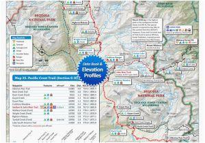 Oregon Pacific Crest Trail Map 7 Best Pacific Crest Trail oregon ...