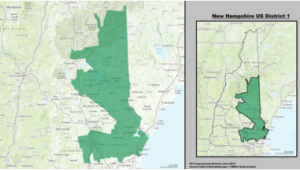 Oregon Precinct Map New Hampshire S 1st Congressional District Wikipedia
