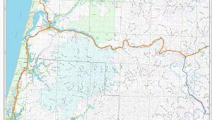Oregon Railroad Map Map Of Coos Bay oregon Secretmuseum