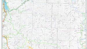 Oregon Road Conditions Map oregon forest Service Road Maps Secretmuseum