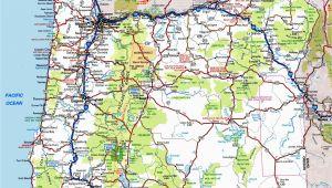 Oregon State Highway Map oregon Road Map