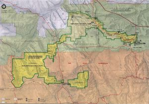 Oregon State Parks Map Maps Of United States National Parks and Monuments