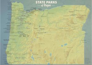 Oregon State Parks Map State Parks Best Maps Ever