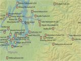 Oregon State Parks Map Washington State Parks Map 18×24 Poster Best Maps Ever