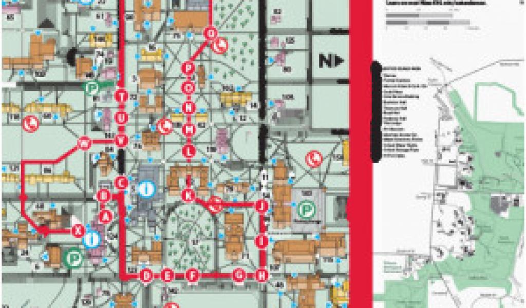 Oregon State University Campus Map Pdf Ohio State University Campus ...