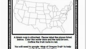 Oregon Trail Map Worksheet 15 Best Us History Images American History Us History oregon Trail