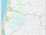 Oregon Tsunami Map Map Of Bandon oregon Secretmuseum