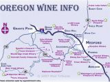 Oregon Vineyards Map oregon Wine Regions Map Secretmuseum