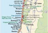 Oregon Washington Coast Map Washington and oregon Coast Map Travel Places I D Love to Go