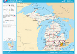 Outline Map Of Michigan Outline Of Michigan Wikipedia