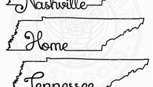 Outline Map Of Tennessee Tennessee Map Outline Typography Clipart Svg Eps by Scrapcobra