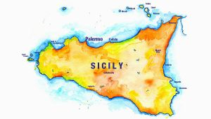 Palermo Sicily Italy Map Sicily Sketch Journal Sketches From Sicily Italy